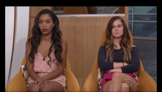 Zakiyah and Michelle on the block