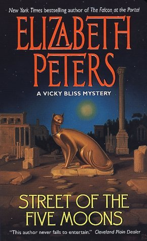 Cover of Street of the Five Moons by Elizabeth Peters
