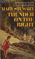 Cover of Thunder on the Right by Mary Stewart
